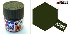 Acrylic Paint - Colore Acrilico 10ml XF-51 XF51 KHAKI DRAB 81751 Tamiya