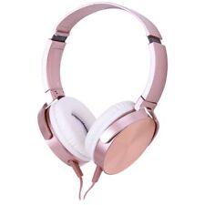 Qudo Smartphone Headphones Rose Gold