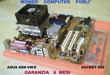SCHEDA MADRE SOCKET 939 ASUS A8N-VM/S + CPU AMD ATHLON 64 3500 + 3Gb Ram