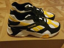 Reebok Aztrek DV9783 Men's 11 White/Gold/Black Brand New