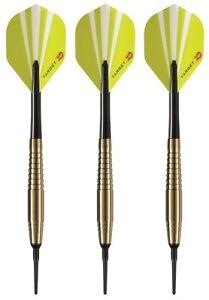 Target Game Play Sport Grip Soft Tip Darts - 18 Grams - Slim Tri Pack Case - B