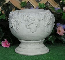 Grecian Roman Grape Vase Planter Urn Latex Fiberglass Production Mold Concrete