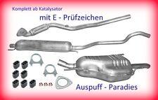 Endschalldämpfer Auspuff Opel Zafira A  1.8i16V  ab Bj 09//2003  125PS