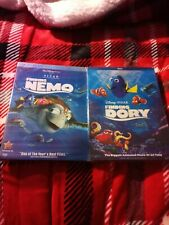 Disney Finding Nemo dvd 2 disc collector's edition and Finding Dory Nip (Sealed)