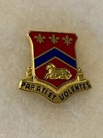 Authentic US Army 123rd Field Artillery Unit DI DUI Crest Insignia G23