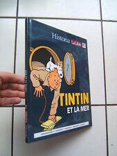 LE POINT HISTORIA   HORS SERIE /  TINTIN   ET LA MER  / CARTONNEE