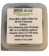 Peca IR-UV 62mm #912 (88A) Filter for IR-UV Cameras