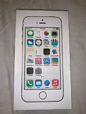 Apple iPhone 5S Silver 32GB Empty Box Tray Opened no phone no accessories