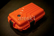 Waterproof 125pcs First Aid Kit MTM Survivor Dry Box, floating Orange Brand NEW