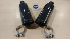 New OEM Black Chrome Exhaust Pipe Tip Set - 2014-2019 Chevrolet Cadillac GMC