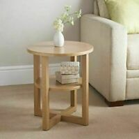 Side Hall Table Lamp Plant Consol Tall Coffee Wine Hallway Furniture - Small Oak
