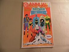 Batman and the Outsiders Annual #2 (DC 1985) Free Domestic Shipping