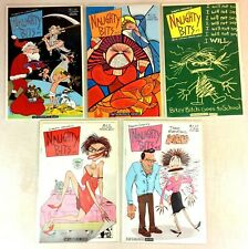 Roberta Gregorys NAUGHTY BITS Comics Vols 1-5 Fantagraphics 1991 Mature Readers
