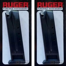 TWO RUGER P89 P93 P94 P95 PC9 9mm 10 Round Magazines 90088 *FAST SHIP*!!