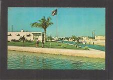 POSTCARD: TAMARAC PARK - BIG COPPITT KEY, FL - MOBILE HOME SUBDIVISION, TRAILERS