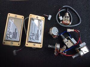 Les Paul Epiphone ProBucker Vintage Humbucker Kit Pickups Push/Pull. SUPERB!