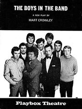 """Mart Crowley """"THE BOYS IN THE BAND"""" Obscenity Charges 1969 Australian Playbill"""
