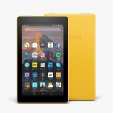 "Amazon Fire 7 Tablet (7th gen) with Alexa 7"" Display 8 GB Yellow Special Offers"