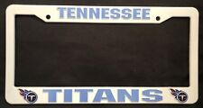 TENNESSEE TITANS NFL AUTO PLASTIC LICENSE PLATE FRAME FREE SHIPPING