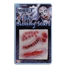 Assorted Zombie Scars Halloween Make Up - Fancy Dress Bloody Wounds Horror