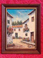 Oil on Canvas Original Landscape Painting by Tilla