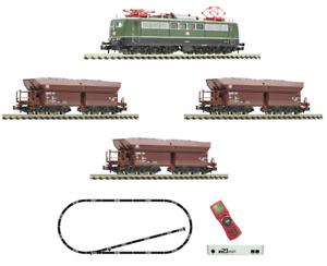 Fleischmann 931896 z21start Digital-Set Güterzug mit E-Lok BR 151, DCC, N