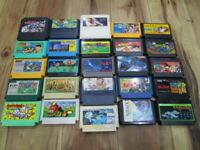 Nintendo Famicom Lot of 20 piece Mario Bros. NES T523