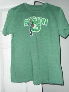 Boston Celtics Tee Boys XL Vintage shirt Funny Forest Green Gift For Men Women