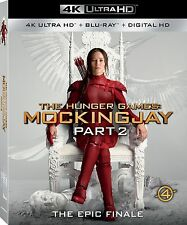 THE HUNGER GAMES : MOCKINGJAY PART 2 (4K ULTRA HD) - Blu Ray -  Region free