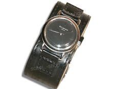 Damen Armbanduhr - Bergmann Uhr - 1961 - breites PU-Lederarmband - neu & selten
