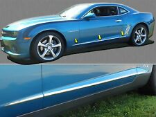 2010-2015 CHEVROLET CAMARO 6 Piece Stainless Steel Body Side Molding Accent Trim