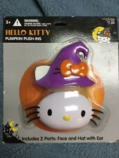 Hello Kitty Pumpkin Push Ins