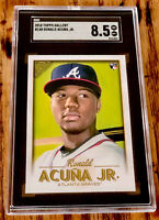 2018 Ronald Acuna Jr. Topps Gallery #140 Rookie SGC 8.5 NM/Mint+ Braves Invest