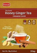 Pocas Honey Ginger Tea, Cinnamon, 12.7 Ounce, 40 Bags Pack of 2
