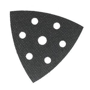 Disque triangulaire 93mm VELCRO® auto-adhésif pour réparation plateau de ponçage