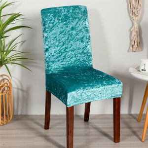Chair Covers for Dining Room Stretch Chair Slipcovers Seat Protector Removable