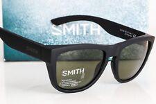 NEW SMITH CLARK SUNGLASSES Matte Black frame/Gray-Green Chromapop Polarized lens