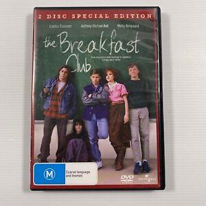 The Breakfast Club Special Edition (DVD 2008 2 disc-set) 1985 film Region 2,4,5