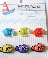 Buttons Galore Spring Fling Collection Butterflies Daisies SF102  Dress it Up