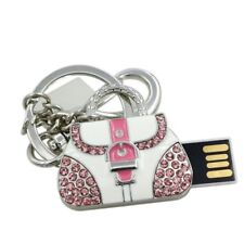 Crystal Lady Bag pendrive keychain USB Flash drive Memory Stick 16GB Free P&P