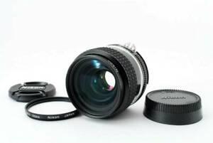 Excellent NIKON AI-s NIKKOR 35mm f/2 AIS Prime MF SLR Lens From JAPAN #777