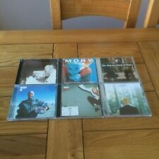 MOBY - COLLECTION / JOB LOT / BUNDLE OF 6 CD ALBUMS