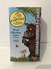 The Gruffalo Word Rhyming Card Game 2 games in one!