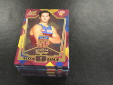 2018 AFL SELECT LEGACY ROOKIE SET OF 78 CARDS