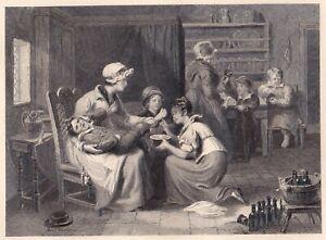 """""""THE CUT FOOD"""" Stst. von E.Smith nach C.Chisholme bei A.Asher um 1820"""