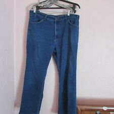 VINTAGE MEN'S USA MADE LEVI'S SKOSH BLUE JEANS SIZE 38 x 27......V.G. CONDITION