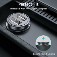 2 Way Car Cigarette Lighter Socket Charger Splitter Power Adapter Dual USB 12V