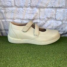 "DREW ""ROSE"" Mary Jane  Bone Leather Orthotic Diabetic Shoes Size 8 WW ~ NEW!"