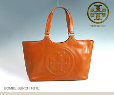 EUC Tory Burch Bombe Leather Tote handbag in Luggage Brown