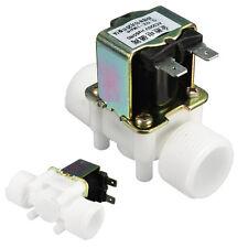 "3/4"" AC 220V N/C Electric Solenoid Valve Water Control Diverter Device Magnetic"